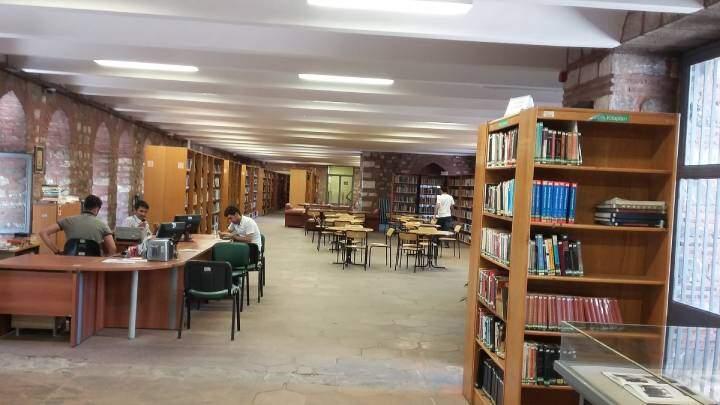 Faith'te bulunan Orhan Kemal Halk Kütüphanesi (kaynak)
